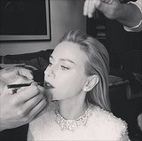 Celebrities Getting Ready For the Oscars 2014 | Instagram