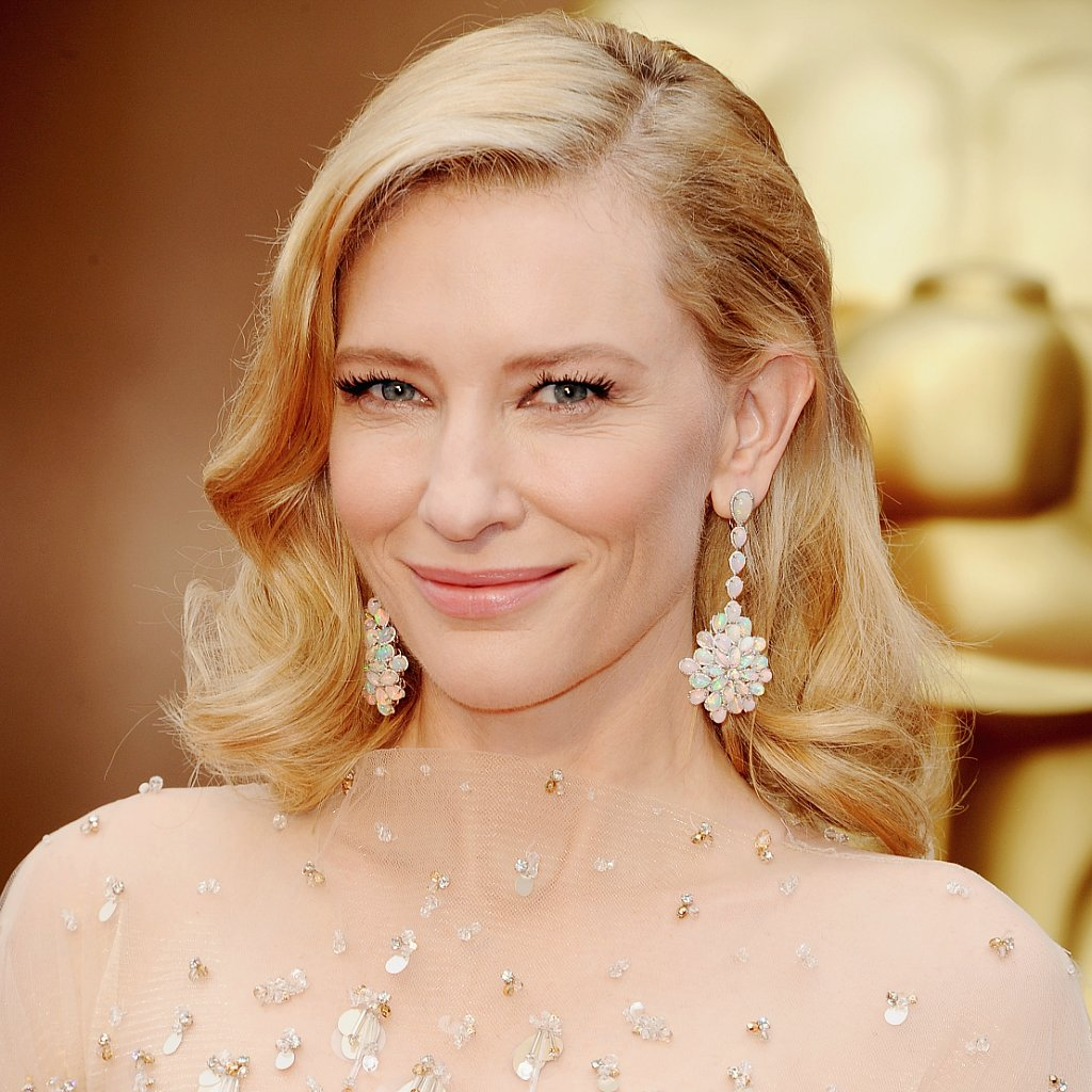 Cate Blanchett's Hair and Makeup at Oscars 2014