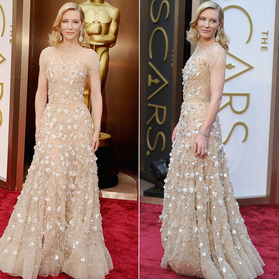 Cate Blanchett on the 2014 Oscars Red Carpet