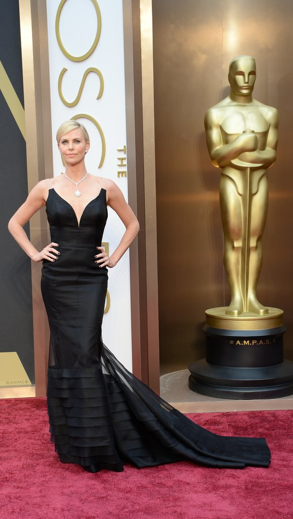 Charlize Theron Is Seriously Sexy on the Oscars Carpet