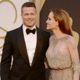 Brad Pitt and Angelina Jolie Pictures at 2014 Oscars