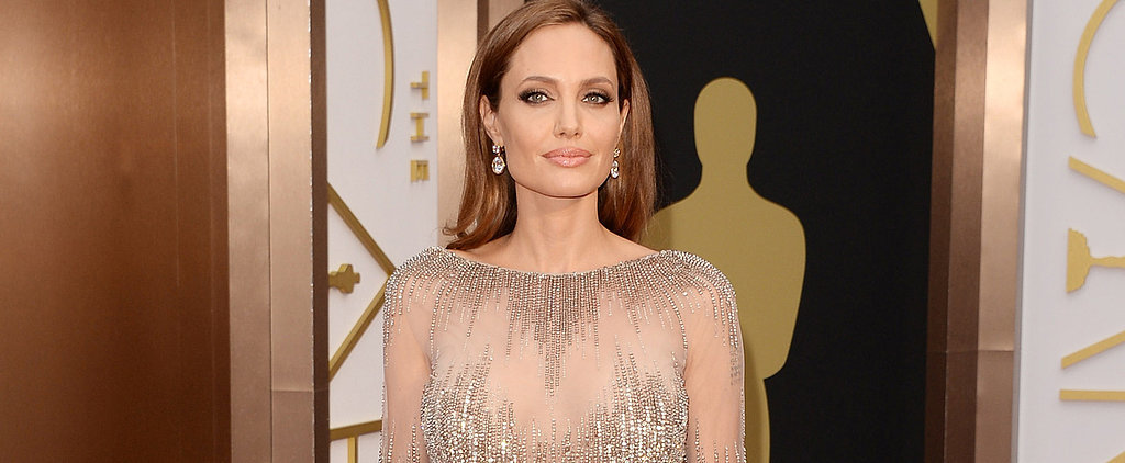 Angelina Jolie Kissed Her Signature Style Goodbye at the Oscars