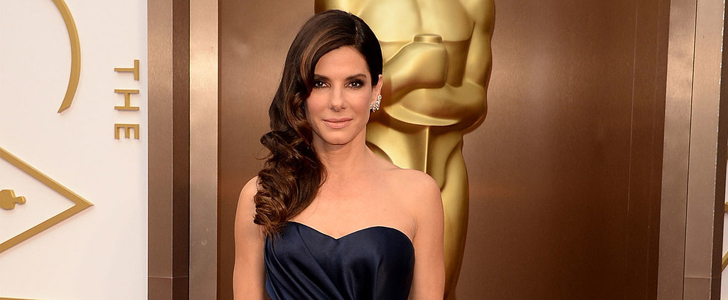 Sandra Bullock's Dress Was Made For an A-Lister