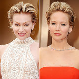 Celebrities With the Same Hair at the 2014 Oscars