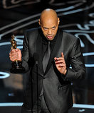 Screenwriter John Ridley delivered a fantastic speech for 12 Years a Slave.