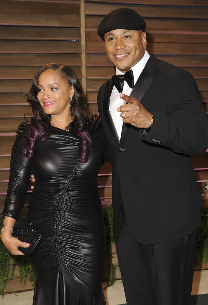 LL Cool J and his wife, Simone Johnson, were ready to party.