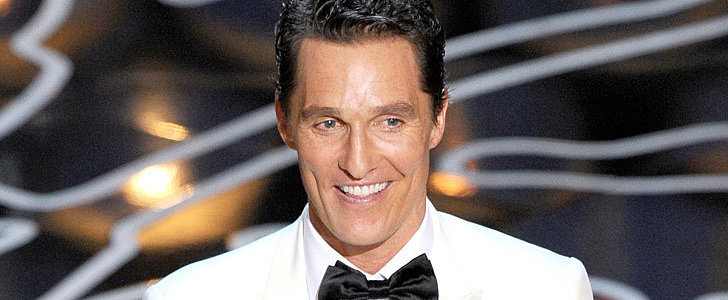 Just Keep Relivin' Matthew McConaughey's Epic Oscars Acceptance Speech