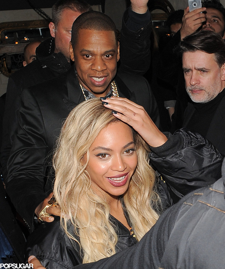 Beyoncé and Jay Z Hit the Town After Taking the Stage in London