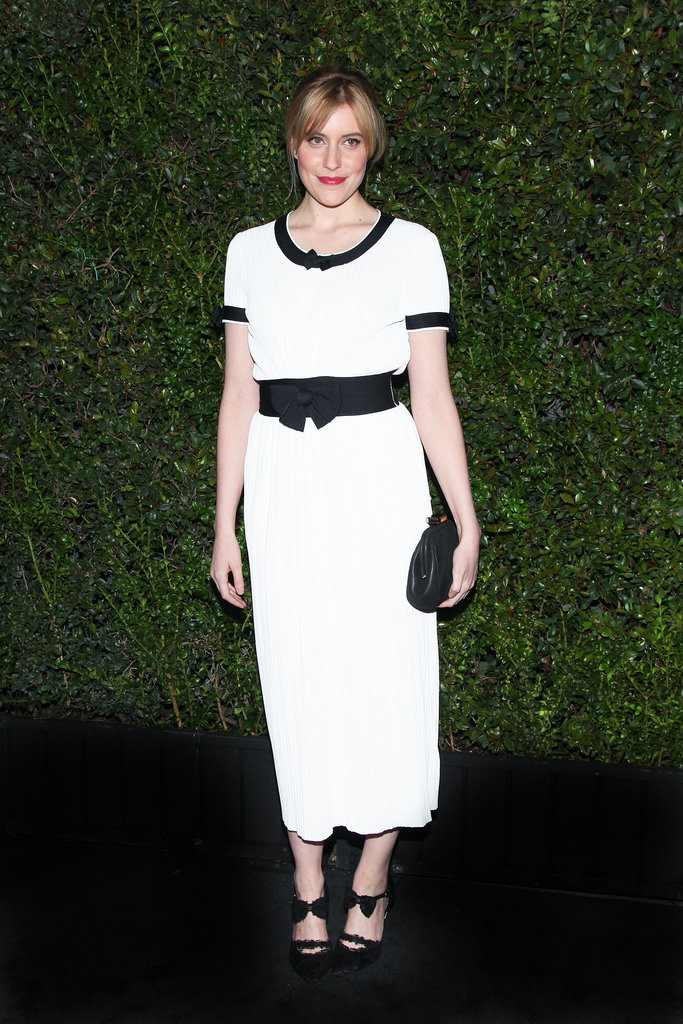 Greta Gerwig at Chanel's Pre-Oscars Dinner