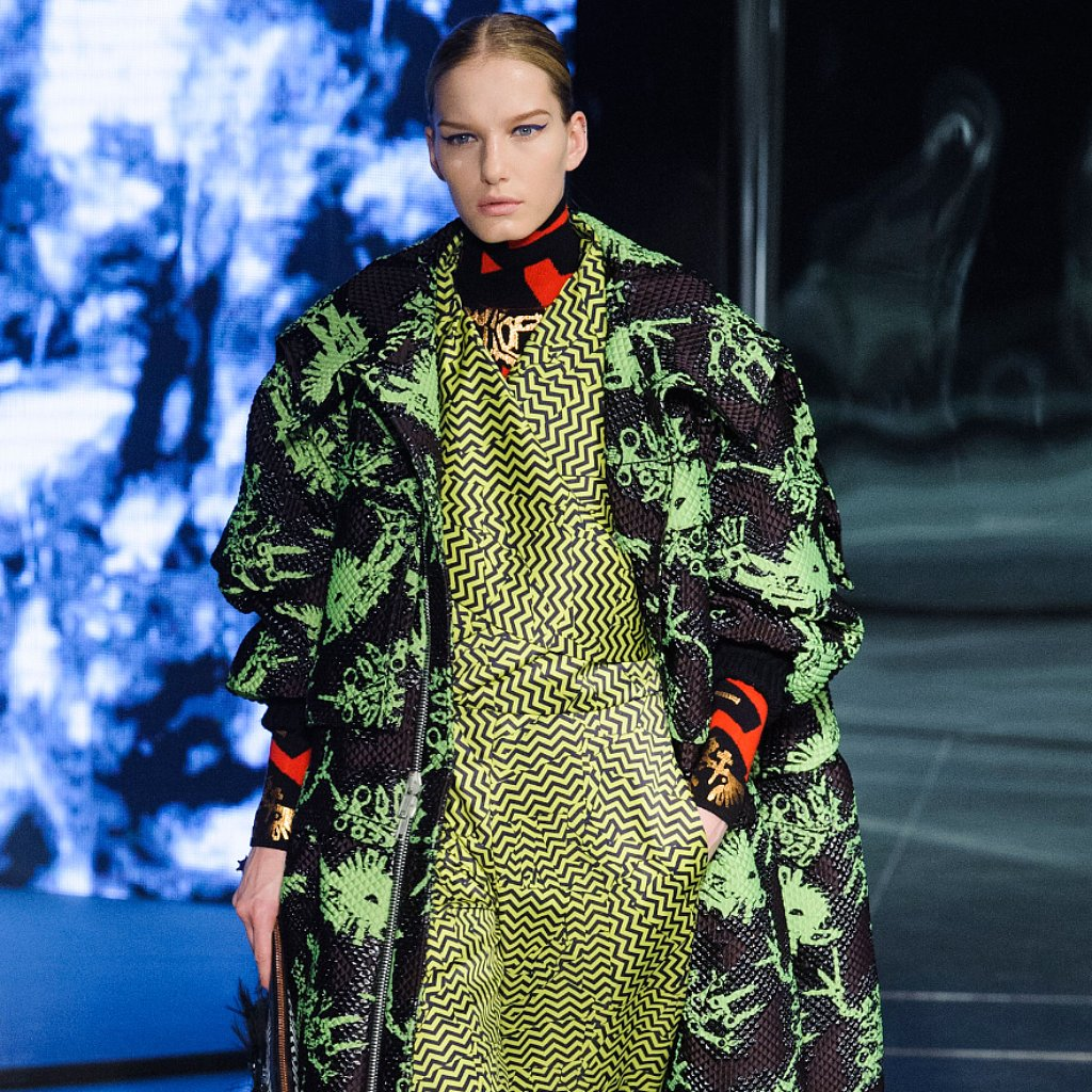 Kenzo Fall 2014 Runway Show | Paris Fashion Week