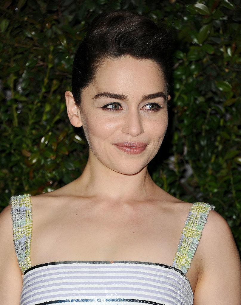 Emilia Clarke at Chanel Pre-Oscars Dinner