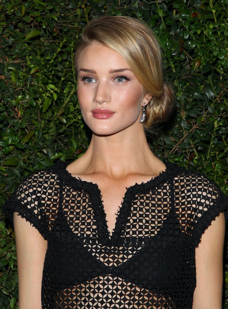 Rosie Huntington-Whiteley at Chanel Pre-Oscars Dinner