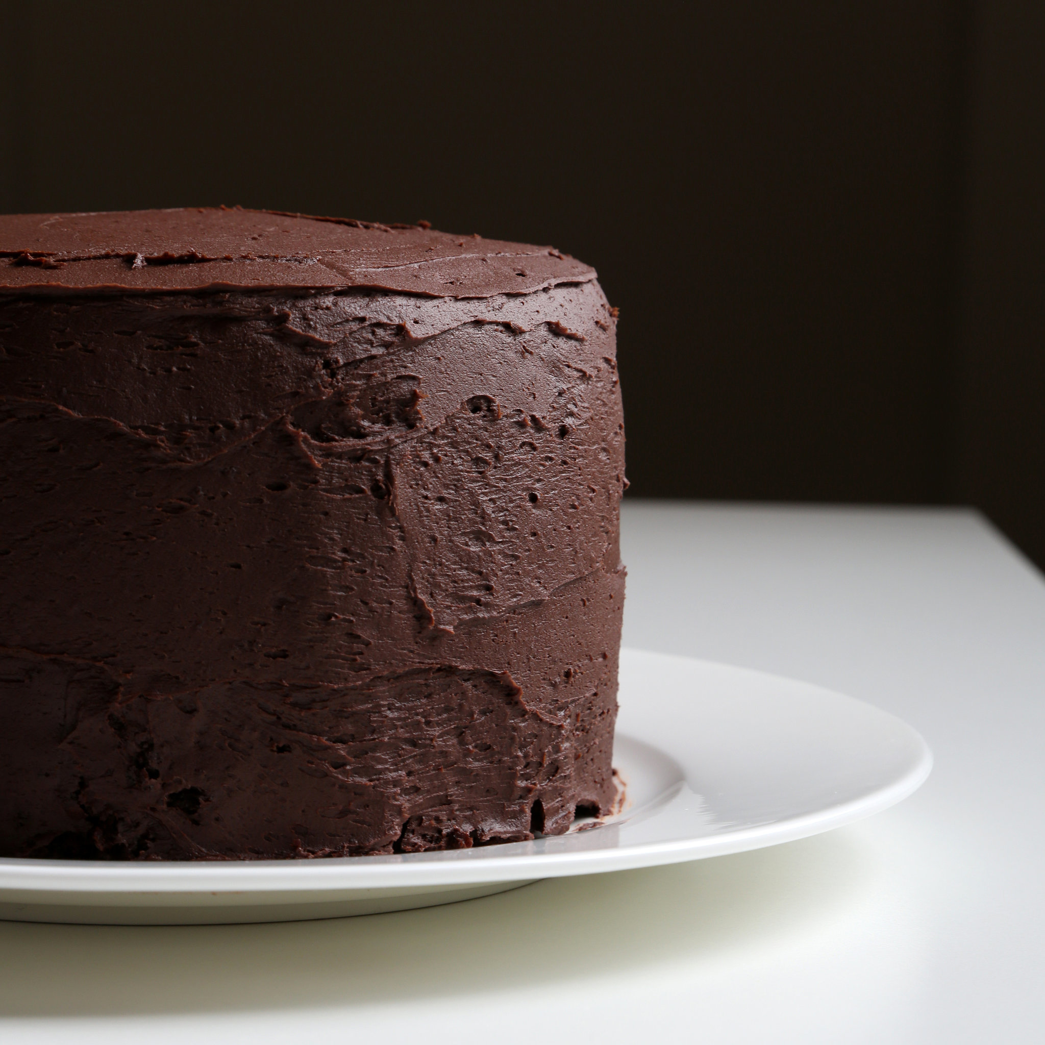 Chocolate Cake With Chocolate Buttercream Recipe ...