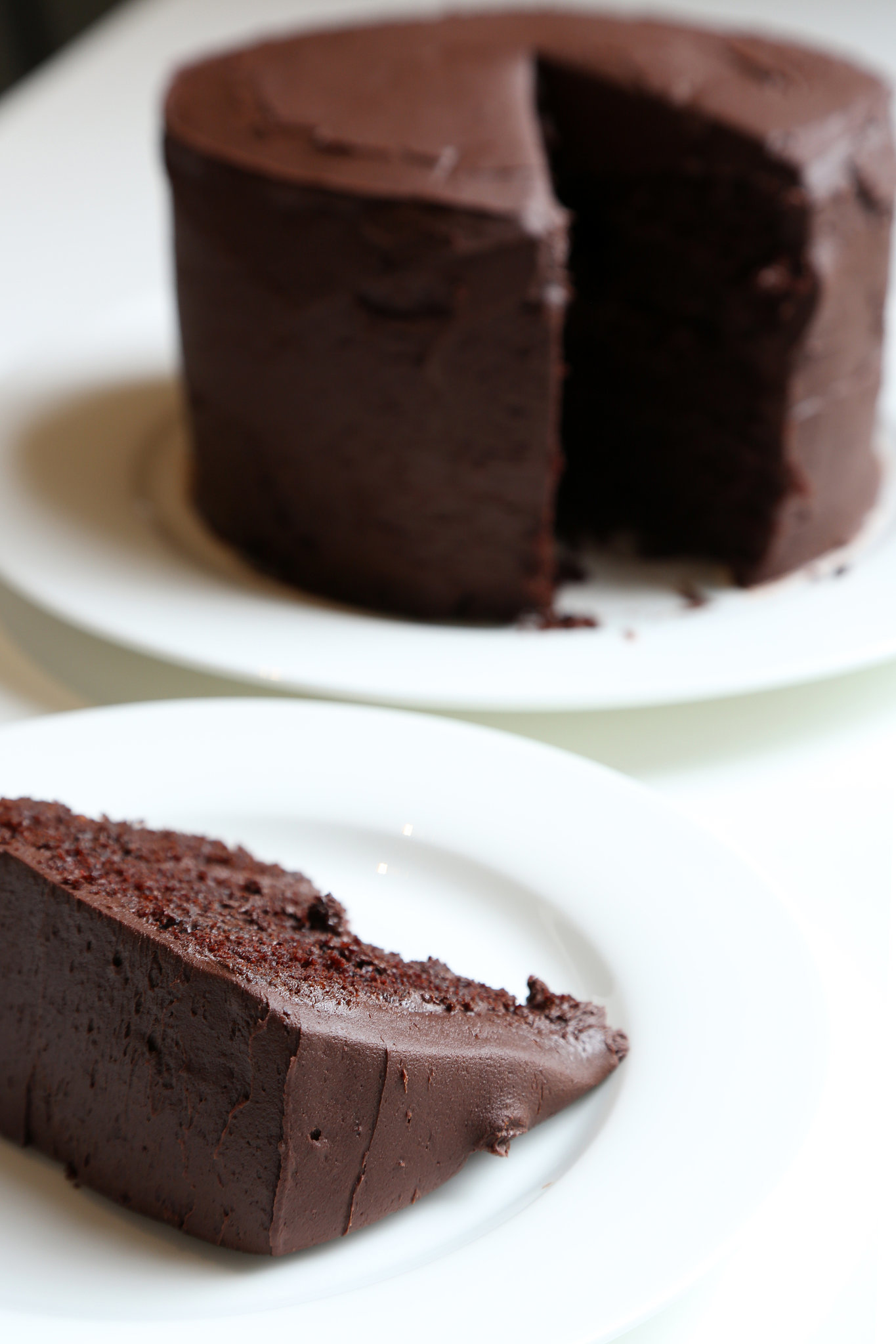 Images Of Chocolate Cake : Chocolate Cake With Chocolate Buttercream Recipe ...