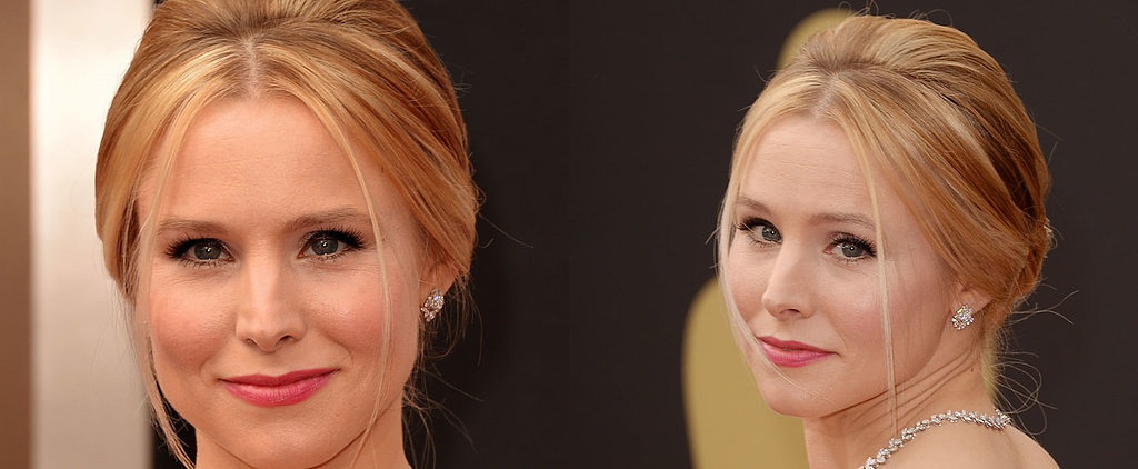 Kristen Bell's Pretty Pink Lip at the Oscars