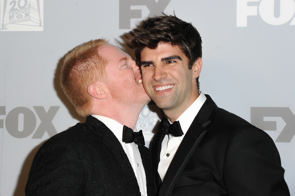 Jesse Tyler Ferguson kissed his husband, Justin Mikita, at the Emmys.