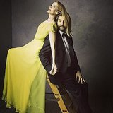 Judd Apatow and Leslie Mann demonstrated their humorous side, as always.  Source: Instagram user vanityfair