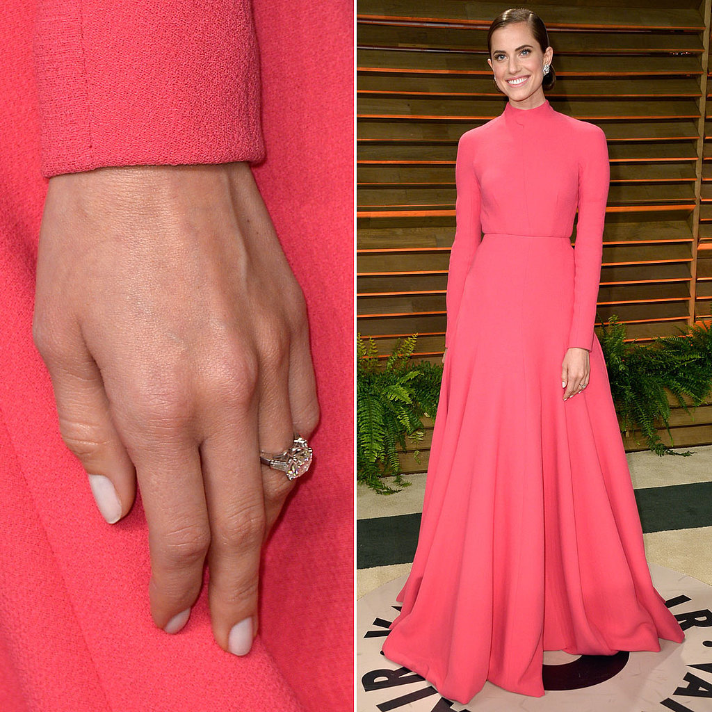 Allison Williams's Engagement Ring May Be the Best Oscars Accessory