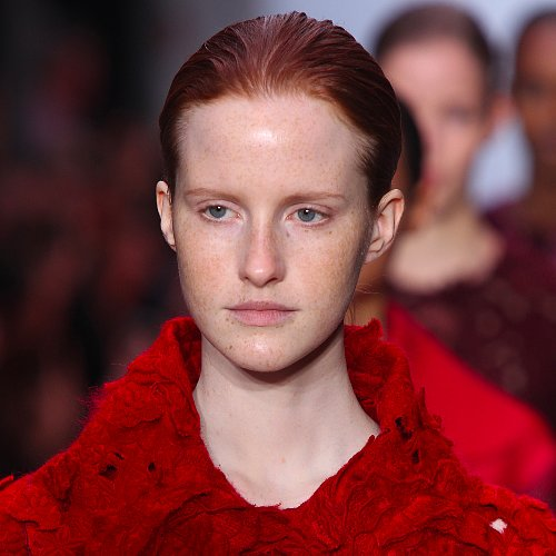 Beauty at Giambattista Valli Autumn 2014 Paris Fashion Week