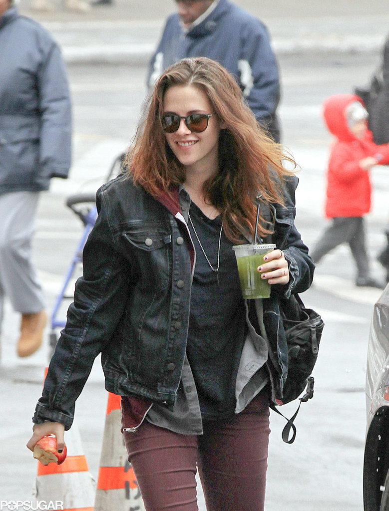 Kristen Stewart Isn't Changing Her Routine Now That She's in NYC