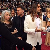 Jared Leto made the Oscars a family affair!