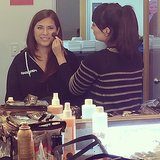 Entertainment editor Shannon Vestal got all glammed up for our live show.