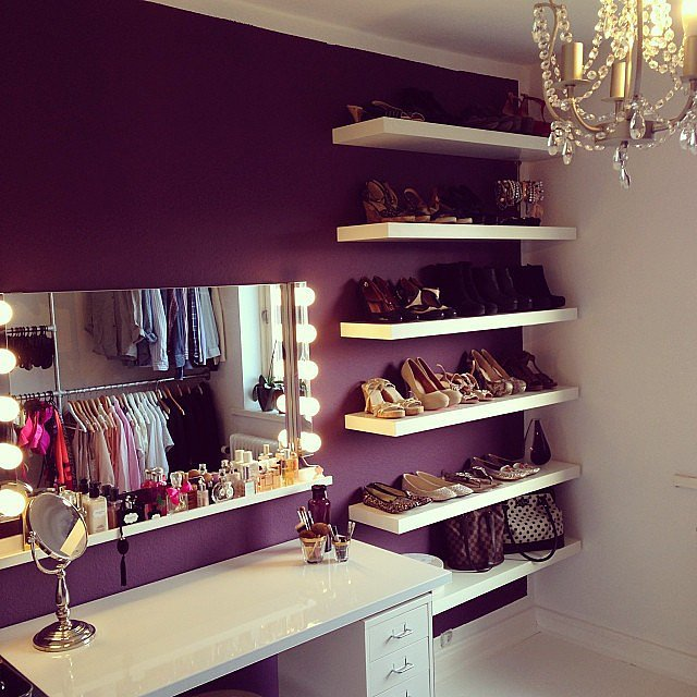 Fashion lover sure knows how give us major vanity closet