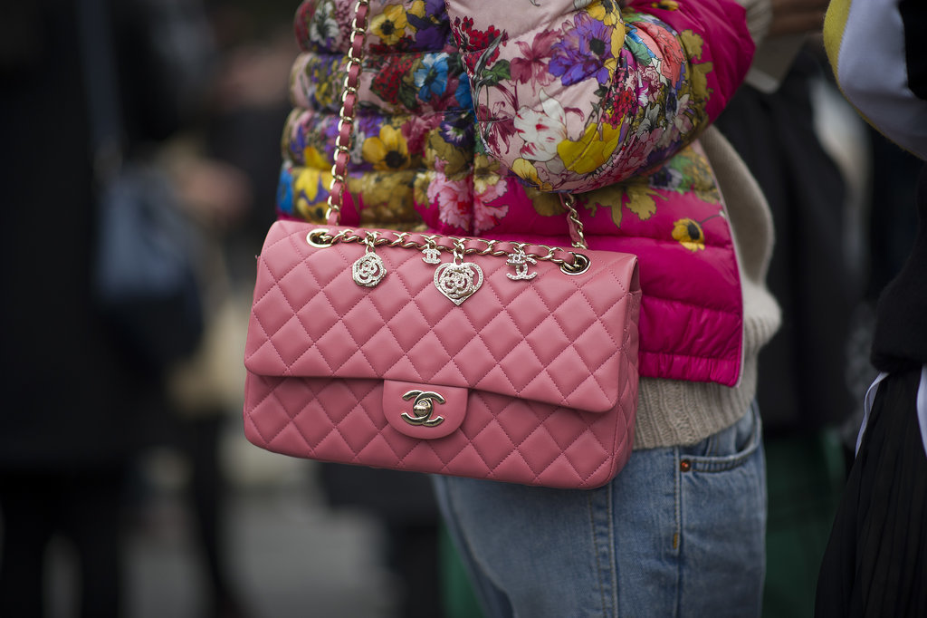 This Chanel comes with extra luxe, thanks to a few charms.
