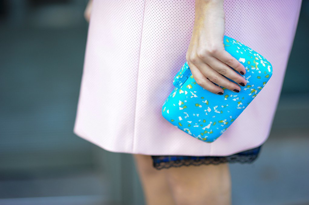 How pretty does pastel pink look against baby blue? Source: Gorunway.com/Matteo Catena