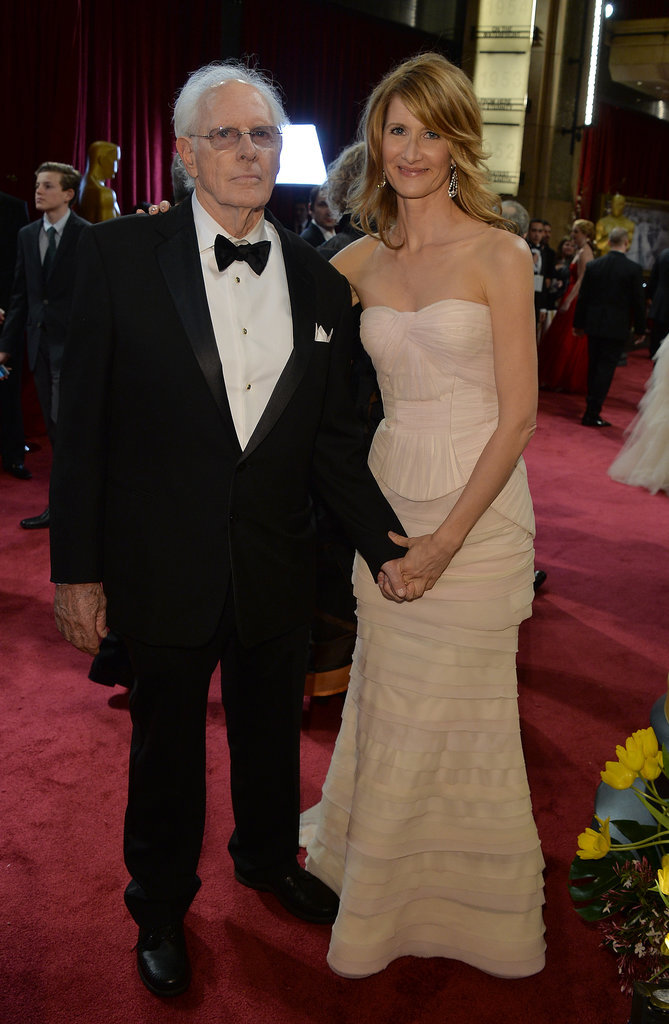 Laura Dern accompanied her dad, Bruce, throughout award season, so it was no surprise to see her by his side at the Academy Awards.