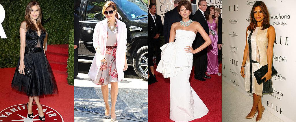 How Eva Mendes Is Single-Handedly Resurrecting Vintage Glamour