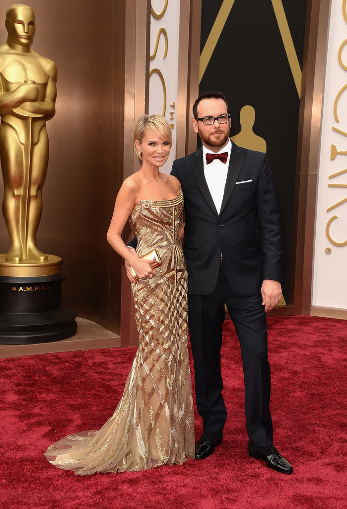 Kristin Chenoweth and Dana Brunetti are a glamorous pair.
