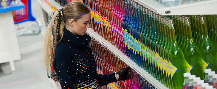 Chanel's Paris Show Took Place in a Faux Supermarket