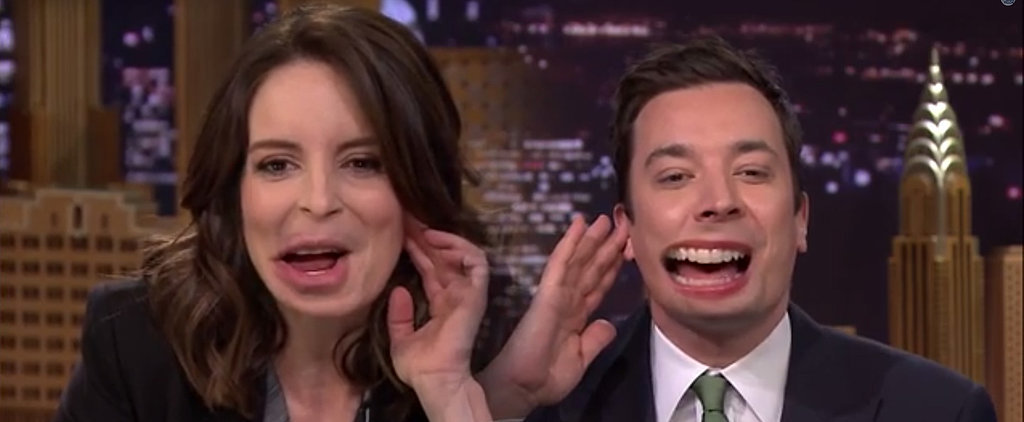 Tina Fey and Jimmy Fallon Flipped Lips, and It's Awesome