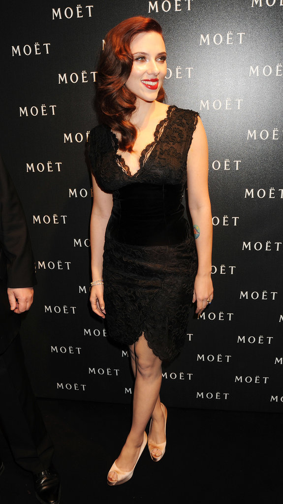 Scarlett Johansson at Moet & Chandon's Tribute to Cinema, 2009