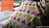Potato Printed Pillow Shams