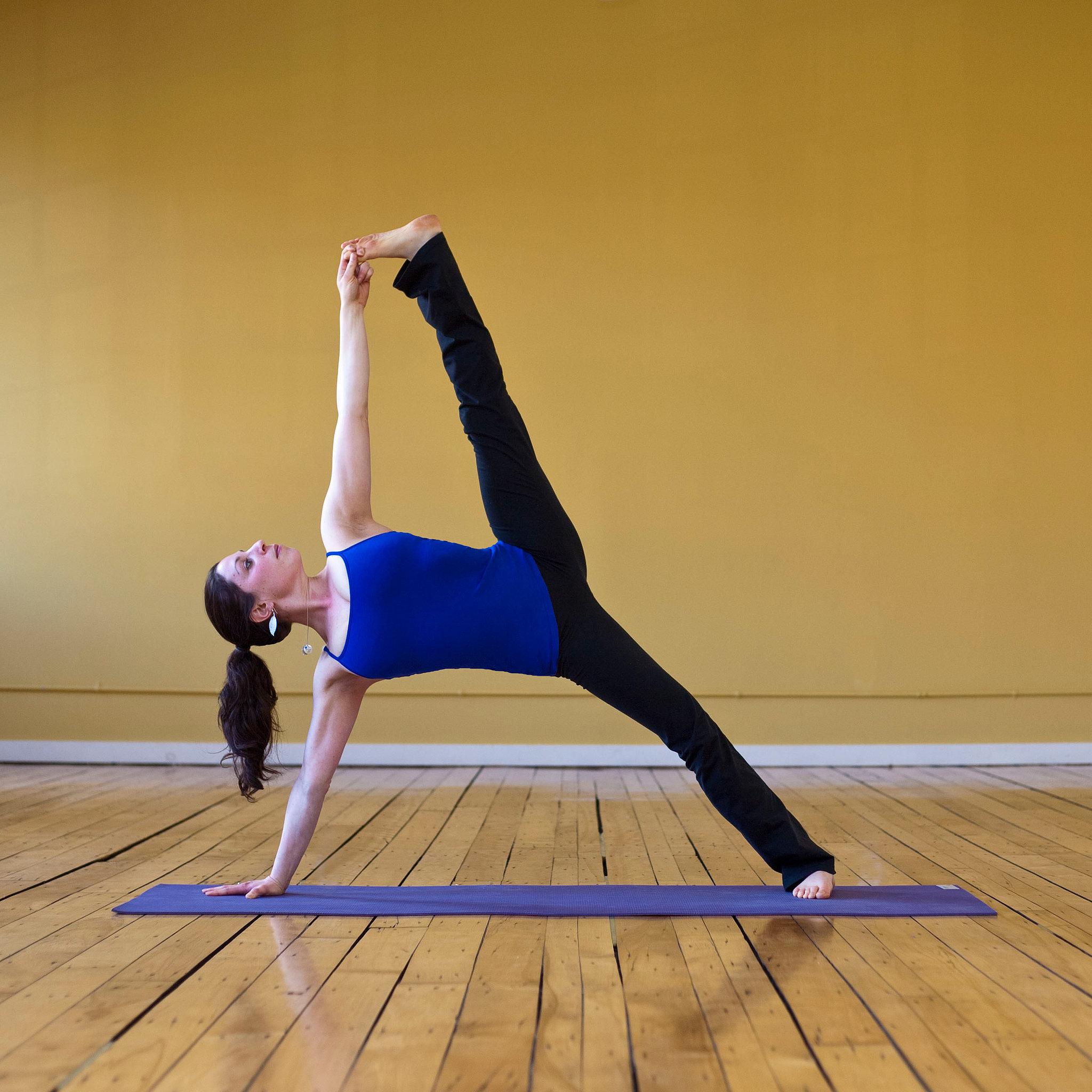 Yoga Pose Of The Week Sage Popsugar Fitness