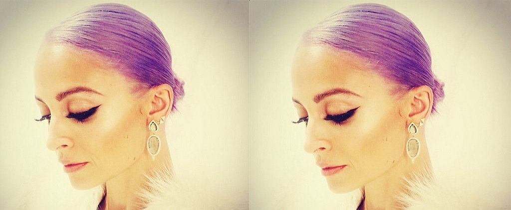 See New Photos of Nicole Richie's Lavender Locks in the Light!