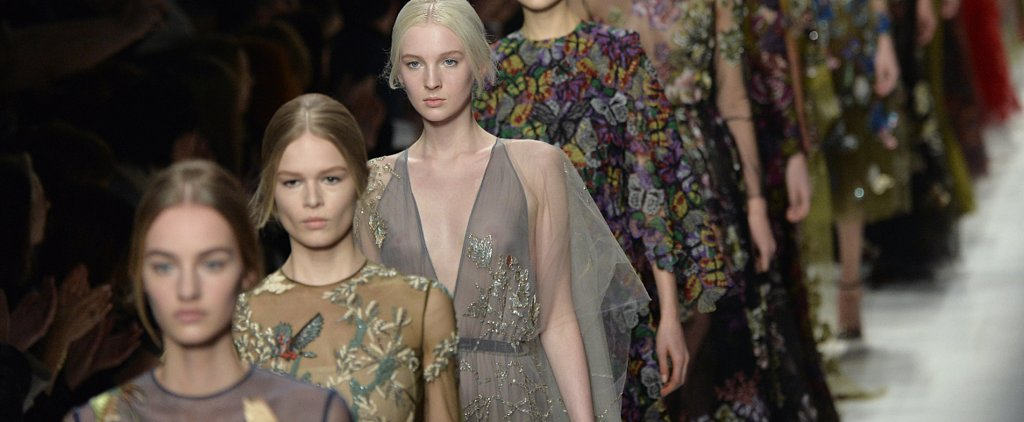You Have to See the Backs of the Valentino Models — Trust Us!