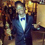 Lupita Nyong'o Brother Peter Jr During 2014 Awards Season