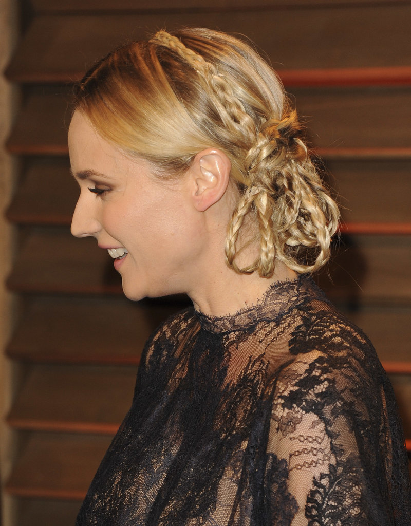 Diane Kruger Wore 15 Braids at One Time!