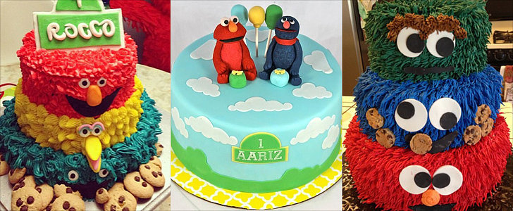 Can You Tell Me How to Bake a Sesame Street Cake?