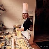 Reese showed off her pasta-making skills.  Source: Instagram user reesewitherspoon