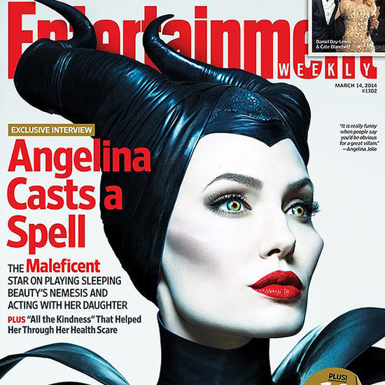 Angelina Jolie as Maleficent Entertainment Weekly Cover