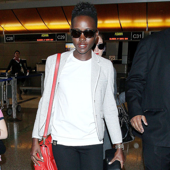 Lupita Nyong'o Knows How to Fly in Style