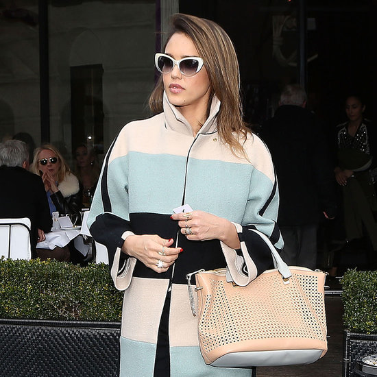 Around the World With Jessica Alba's Coat