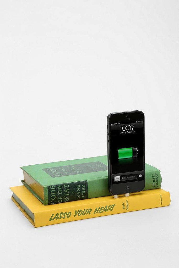 Vintage Book iPhone Dock