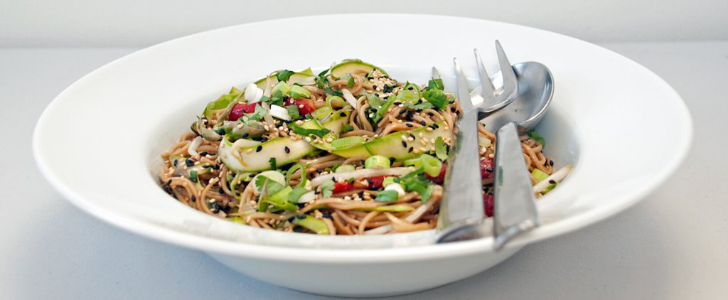 Vegan and Veggie-Packed: Soba Noodle Salad