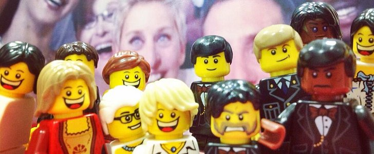 The Oscars Selfie Just Got Lego-ized