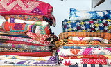 Fabric: The Unsung Wall-Decorating Hero (13 photos)